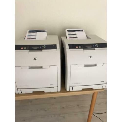 2x HP 3505N netwerk printer