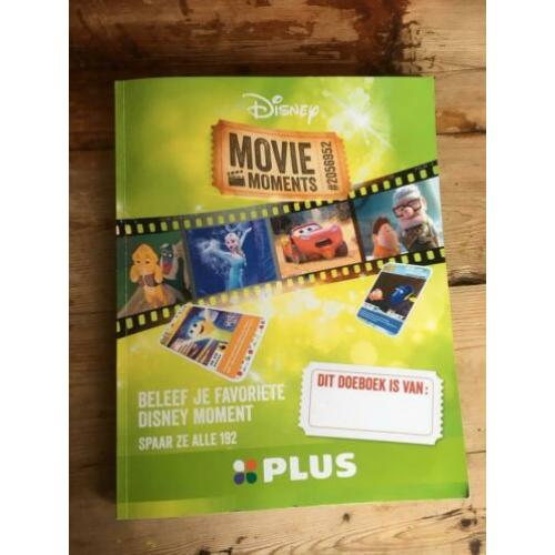 Compleet Plus Disney movie moments boek