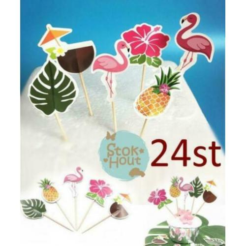 Cupcake decoratieset 'Beachparty' - 24st | Stokhout 60