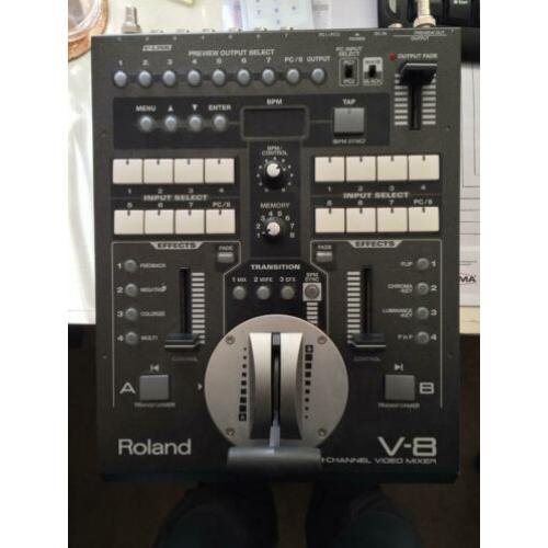 Roland V-8 video mixer