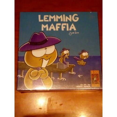lemming maffia bordspelletje