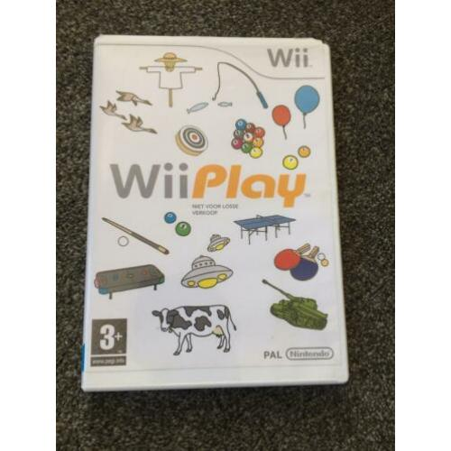 Diverse Wii games: Wii play en Magic Carnaval