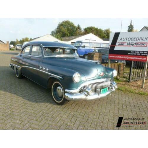 Buick eight special sedan 8 cilin lijn 1951