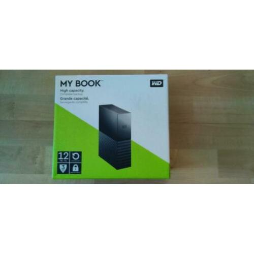 WD My Book 12TB USB 3.0 externe harde schijf met encryptie