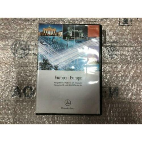 Mercedes Navigations-CD Audio 50 Aps Version 4.0