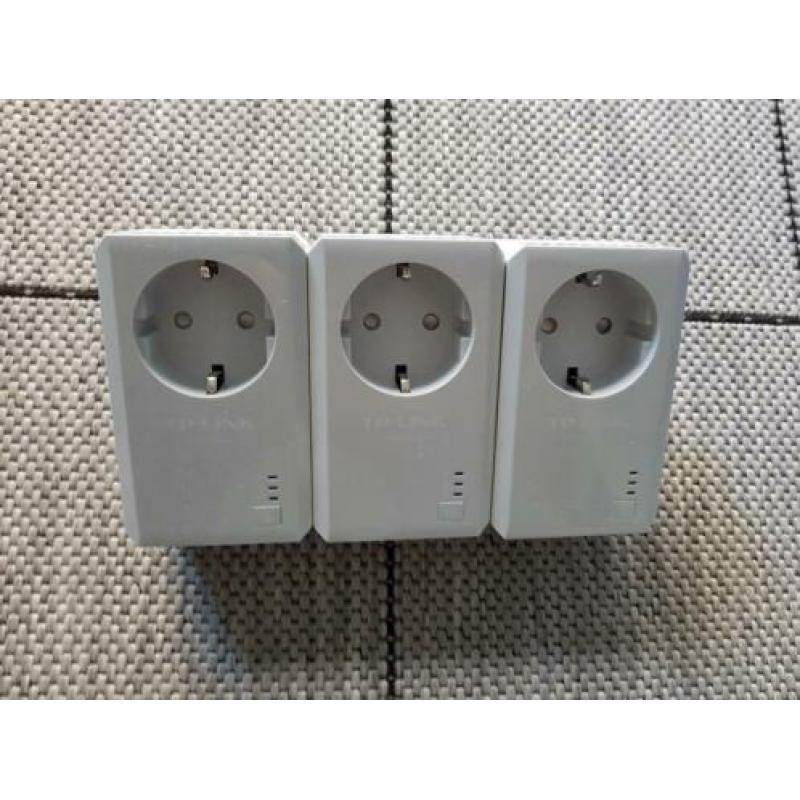 TP-Link TL-PA4020P AV500 Powerline Adapter 3 stuks
