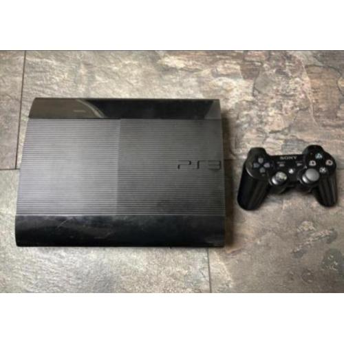 PS3 500GB 1 controller